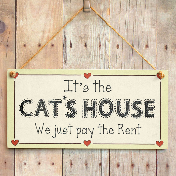 Ebay Houses For Rent: It's The Cat's House We Just Pay The Rent