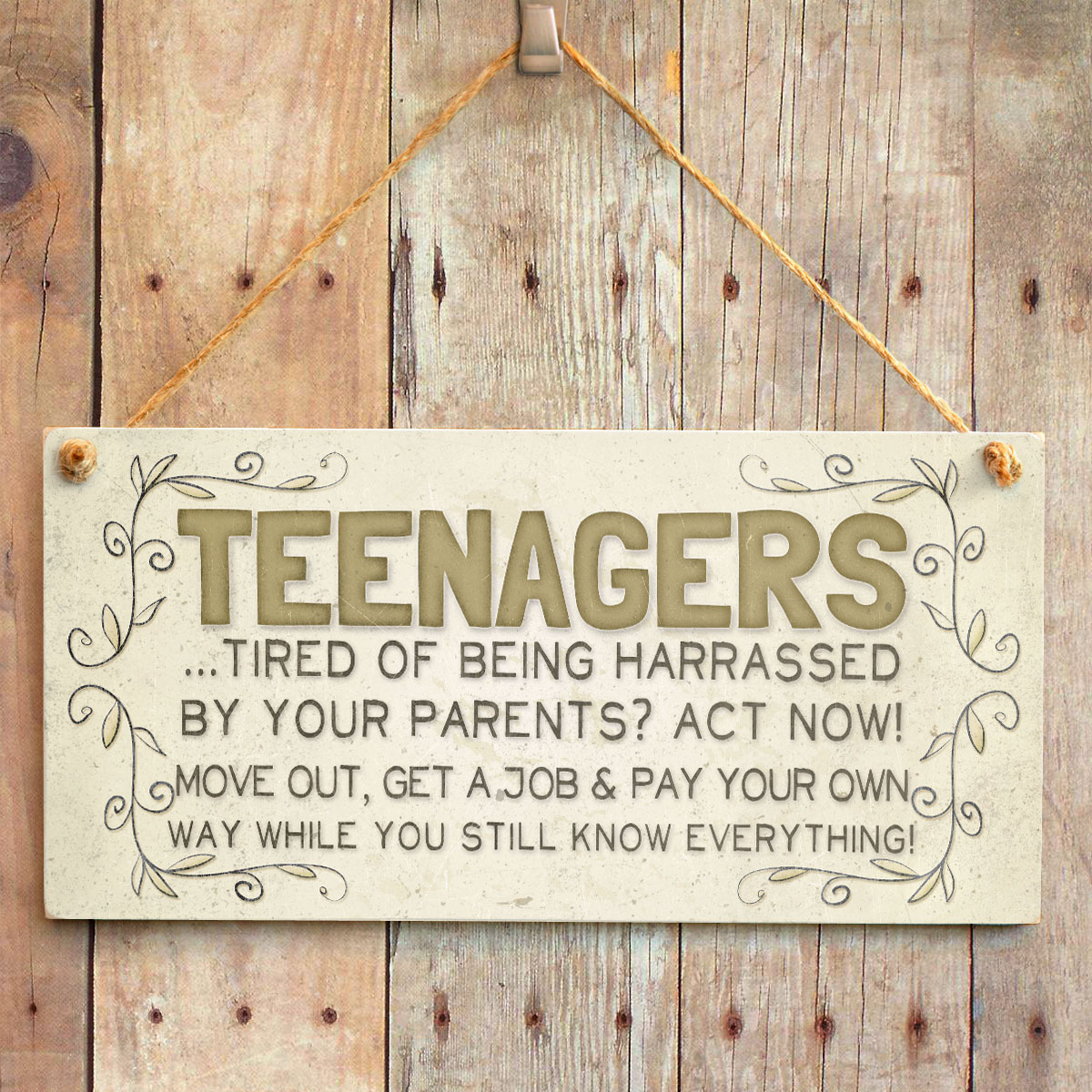 Teenagers Tired Of Being Harassed By Your Parents Act Now
