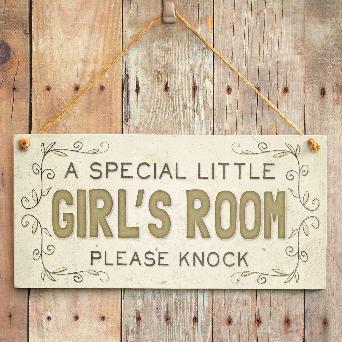 A special little girl 39 s room please knock kid 39 s room for Signs for little girl rooms